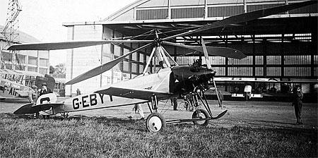 La Cierva C 8L-II G-EBYY