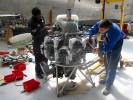 Restauration des moteurs du Bermuda