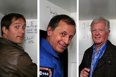 Jean-Loup Chrétien, Michel Tognini et Thomas Pesquet : 3 astronautes à Planète Pilote