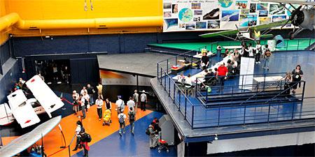 Le musée accueille les enfants pendant le Salon du Bourget