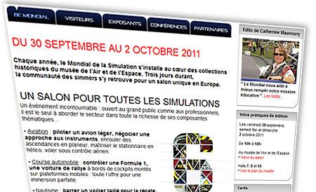 6e Mondial de la simulation