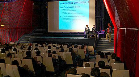 Conférences du salon des formations et métiers aéronautiques