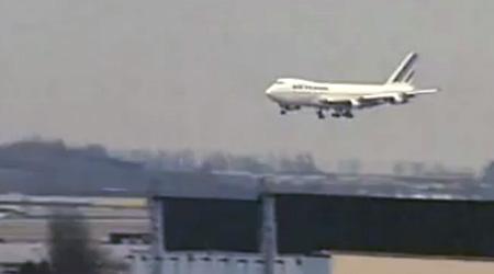 Dernier vol du Boeing 747 F-BPVJ
