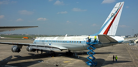 DC-8 SARIGuE F-RAFE