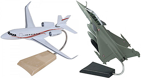 Maquettes Dassault aviation Rafale Falcon