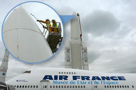 Nettoyage Ariane 5