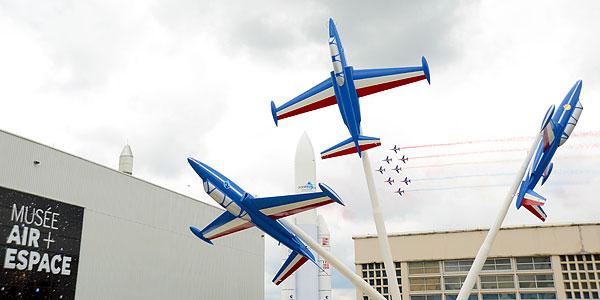 Les trois Fouga du musée