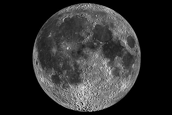 La Lune depuis la Terre