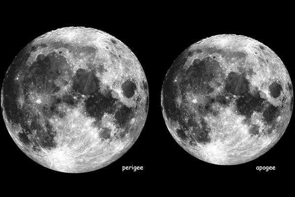 Taille de la Lune