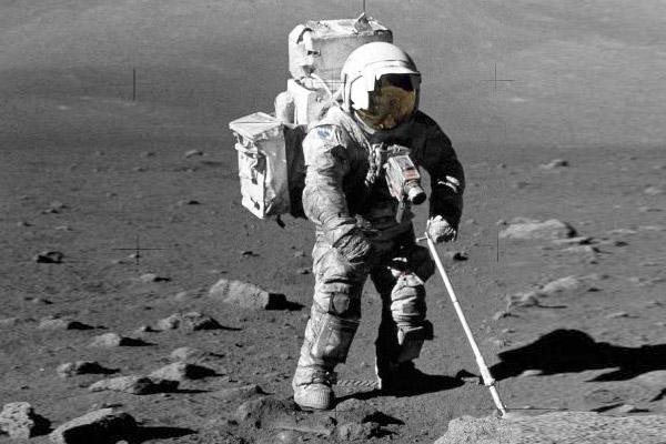 Poussière sur la Lune