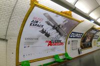 La Grande Guerre des aviateurs : le mus�e s'affiche dans le m�tro parisien