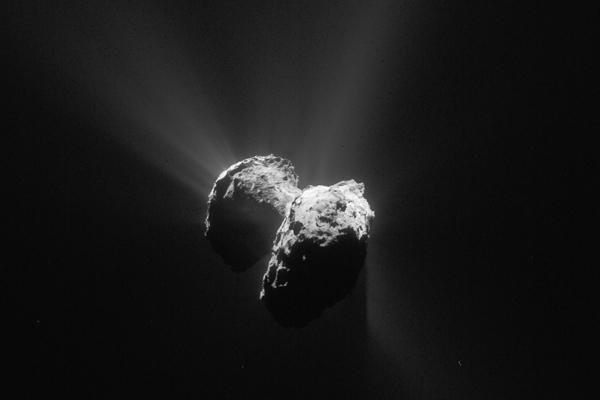 Comète Tchoury